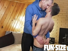FunSizeBoys - Little boy Logan fucked bareback by his school janitor