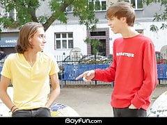 Boyfun - Jake Olsen Fucks Hung American Twink Gabe Isaac