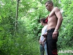 JalifStudio - Euro jock fucks twinks tight ass bareback and blows load