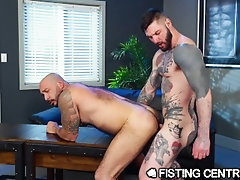 FistingCentral Fisting The Office Slut