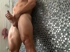 Voyeur shower in Beverly Hills mansion