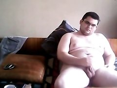 Bulgarian Chubby Boy Stefan Jacks Off Dick