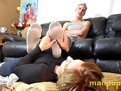Gay Twink Human Furniture Foot Sub - Elis Ataxxx - Richard Lennox -Manpuppy