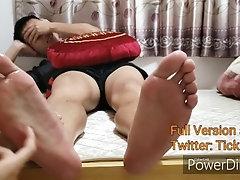 Hong Kong Boy Eric Enjoys Foot Tickling (Full Ver. add Twitter: Tickle_HK)