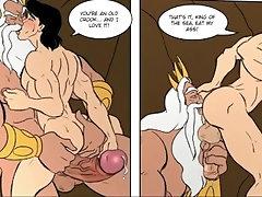 "HENTAI - Gay Comic Cartoon Animated - Gay Animation ""Royale Meeting"" Part 1"