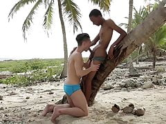Outdoor lesson bbc men