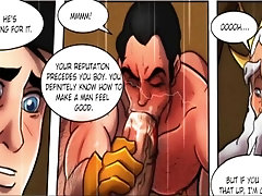 HENTAI - Gay Animation Comic - Gay Cartoon Animated 2020 - Royal Meeting 2