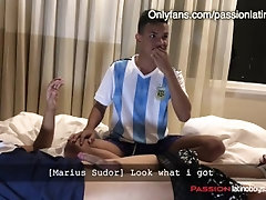 I Ask My Straight Soccer Friends to Fuck me Brutally and SWEATY