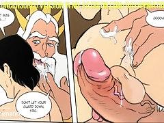 Cartoon - Gay Animation - Royal Meeting Prince Eric - Hentai Hard Bara