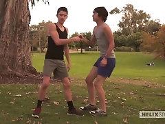 Matthew Keading and Evan Parker