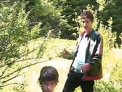 Gay teen sex in the public park